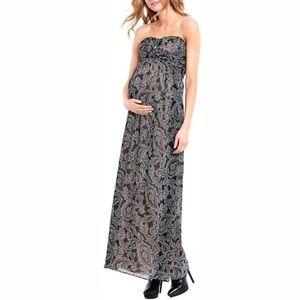 Jessica Simpson | Strapless Maternity MaxiDressNWT